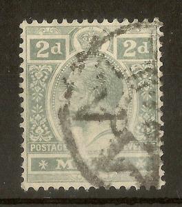 Malta 1914 GV 2d SG75 Fine Used