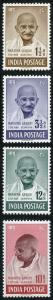 India SG305/8 1948 Gandhi Set 10R U/M others m/m or no gum