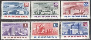 Romania #C129-34  MNH  CV $2.90 (S1753)