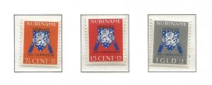 Suriname 1941 Help Netherlands set   mint HR