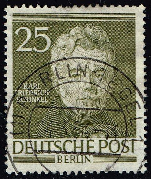 Germany #9N91 Karl Friedrich Schinkel; Used (5.00)