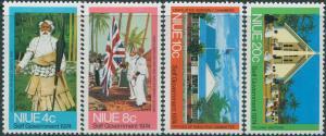 Niue 1974 SG186-189 Self Government set MNH