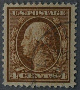United States #334 4 Cent Washington Used