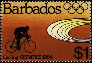 Barbados. 1984 $1 S.G.748 Unmounted Mint