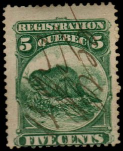 Canada - 5 cent - Registration  - Used