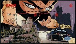 HERRICKSTAMP NEW ISSUES SAN MARINO Comics Festival S/S