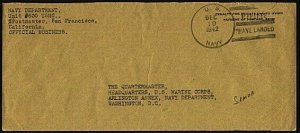 AMERICAN SAMOA 1942 cover : US NAVY / MARINES HAVE LANDED duplex...........96463