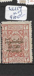SAUDI ARABIA HEJAZ (P1902BB)   SC L114  MOG