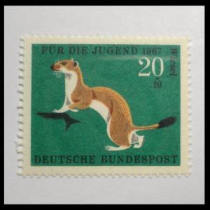 GERMANY STAMP 1967. SCOTT # B423.  MINT