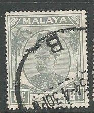 Malya - Selangor || Scott # 84 - Used ©