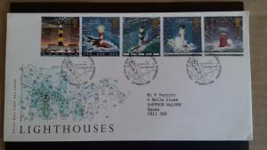 Great Britain 1998 Lighthouses FDC