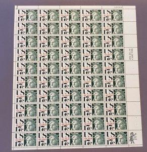 C80, Air Mai, Liberty Head, Mint Sheet, OGNH CV $27