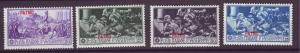J21275 Jlstamps 1930 italy patmo part of set mhr #12-5 ovpt,s ferrucci
