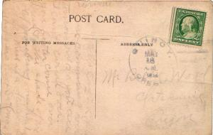 United States Oregon 1912 Quincy 1912 4a-bar  1892-1959  PC.