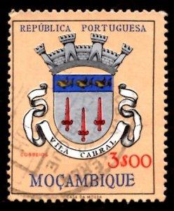 Mozambique 1961 Vila Cabral, Coat of Arms 3e Scott.416 Used (#7)