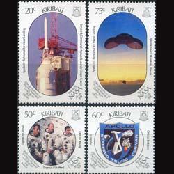 KIRIBATI 1989 - Scott# 517-20 Moon Landing Set of 4 NH