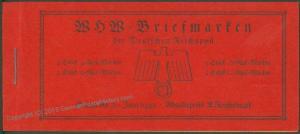 Germany 1938 MH45 Welfare All Original Stamp Booklet Markenheftchen 63548