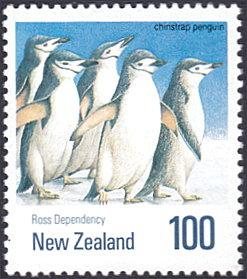 New Zealand # 1012 mnh ~ $1 Birds - Chinstrap Penguins