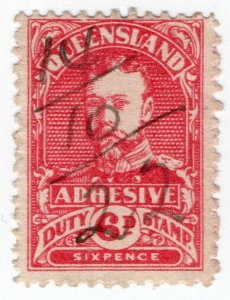 (I.B) Australia - Queensland Revenue : Adhesive Duty 6d