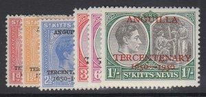 ST. KITTS-NEVIS, Scott 99-104, MHR