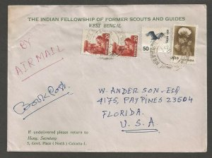 1982 India Fellowship former Boy Scouts Girl Guides corner ad