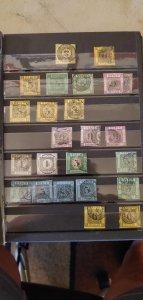 German States in Stockbook Huge CV Baden