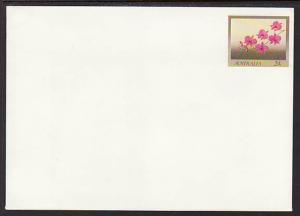 Australia Flowers Unused Postal Envelope