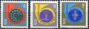 Poland 1961. Conference of the Ministries Postal Services (MNH OG) Set