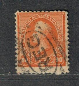 US Sc#229 Used/F, Cv. $135