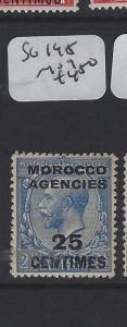 MOROCCO AGENCIES   (P1305B) KGV 25 C  SG 195      MOG