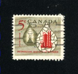 Canada  381   used VF PD 1958
