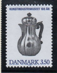 Denmark  Scott  911 1990 Decorative Art Museum stamp mint NH