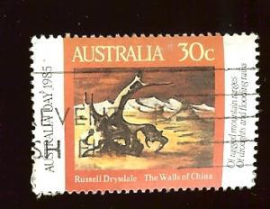 Australia #943 30c Australia Day - The Walls of China