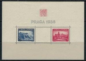 Czechoslovakia #251* NH  CV $5.00  Souvenir sheet