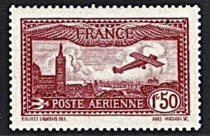 France #C5 View of Marseille, Notre Dame Cathedral. Superb OG NH 1930