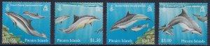 Pitcairn Islands  Scott #'s 733 - 736 MNH