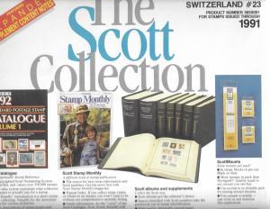 Scott Switzerland #23 Supplement 1991