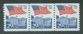 U.S. Scott 2609 VF MNH PNC Strip of 3