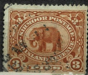 India -SIRMOOR STATE - 3P USED