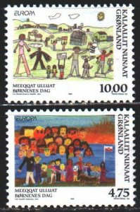 Greenland. 1998. 323-24. Festivals and celebrations, Europe-sept. MNH.