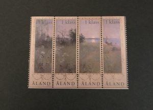 Aland Islands 2003 #212 a-d,MNH, Block of 4, SCV $7