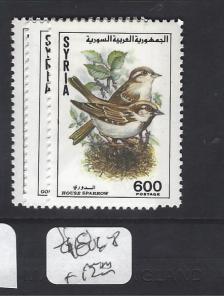 SYRIA  (P2709B)   BIRD  SG 1806-8    MNH