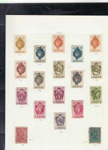 liechtenstein stamps page ref 16877