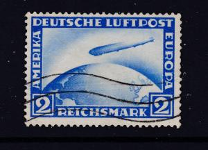 Germany the 1928 Zeppelin 2Rm used