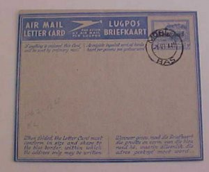 BASUTOLAND  AIR LETTER  1949 MORI