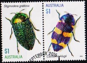 Australia. 2016 $1(Pair) Fine Used