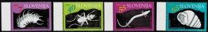 1993 Slovenia Scott Catalog Number 176-179 Unused No Gum