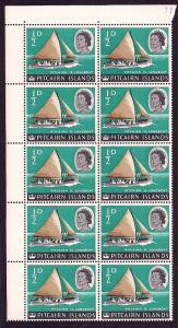 PITCAIRN ISLANDS Sc#39 Block of 10 MINT NEVER HINGED