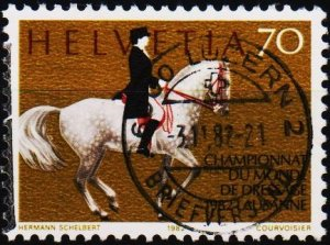 Switzerland. 1982 70c. S.G.1048  Fine Used