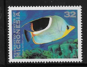 MICRONESIA, 214, MNH,BUTTERFLY FISH